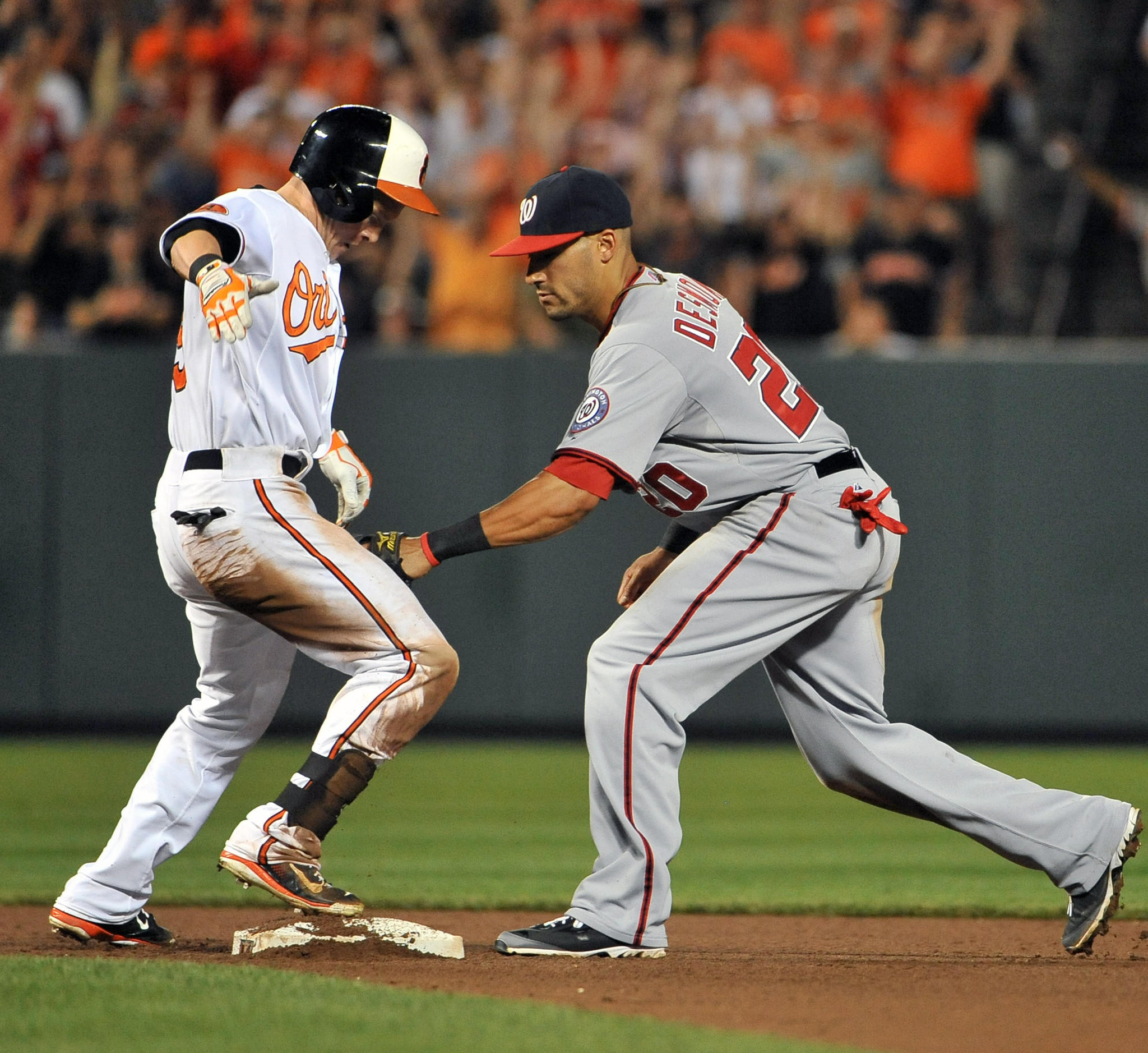 The Orioles and Nationals will each have their own broadcast when they meet again in July.