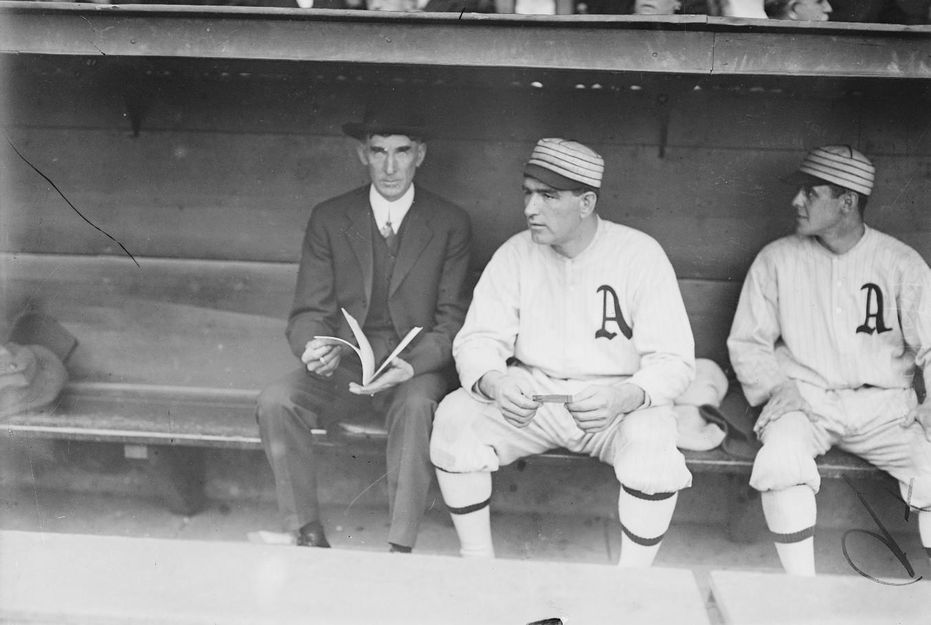 Connie Mack & Ira Thomas