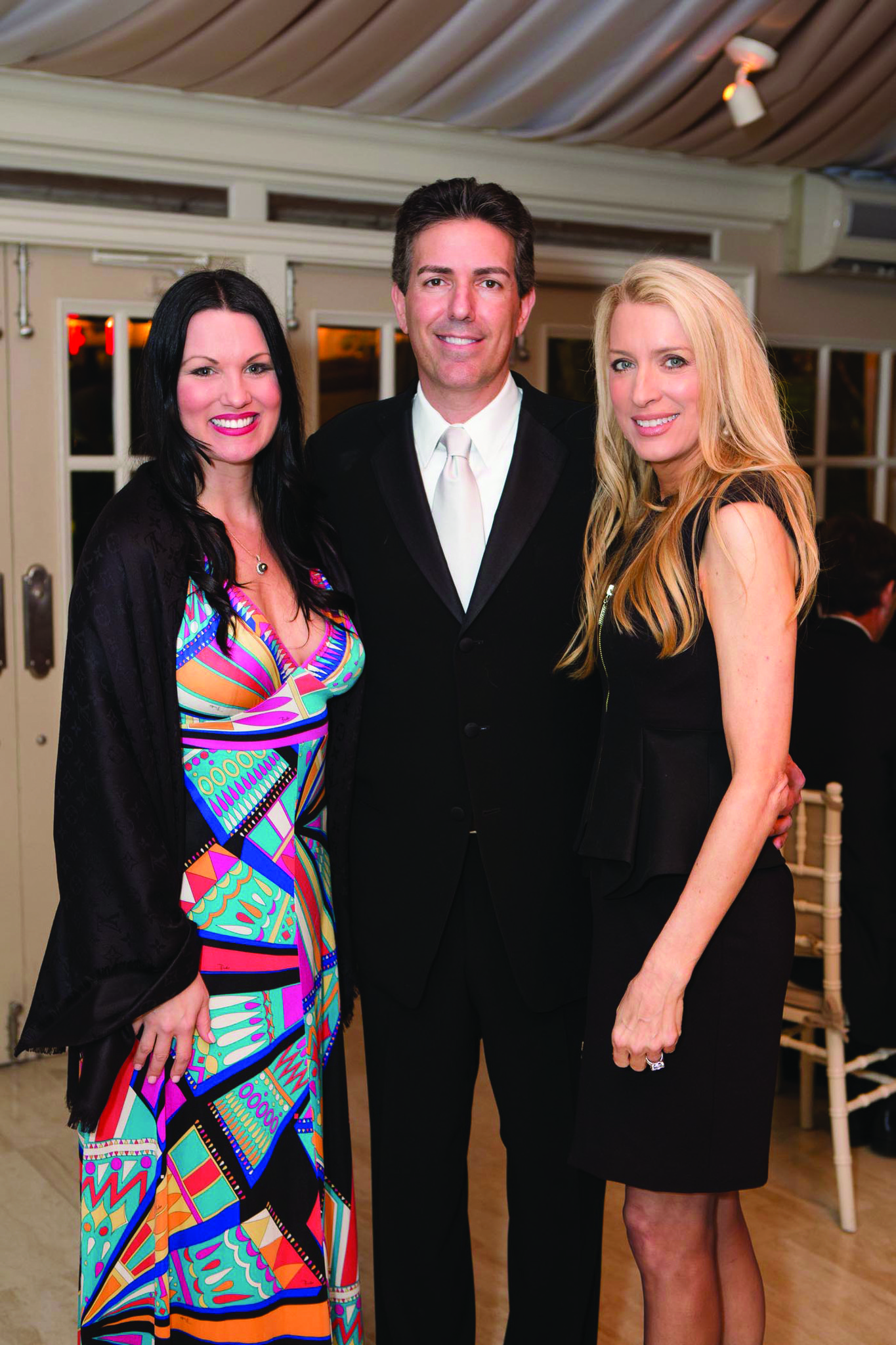 Society Scene photos - Angela Vecellio, left, Wayne Pacelle and Laura Maloney were among the more than 250 guests at The Humane Society of the United States