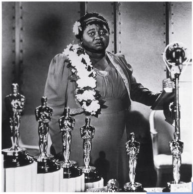 "In her tearful Oscar acceptance speech, McDaniel said:  ""I sincerely hope I shall always be a credit to my race and the motion picture industry."" But just a few months earlier, she and the film's other African American actors were barred from attending the premiere of the 1939 film in racially segregated Atlanta."