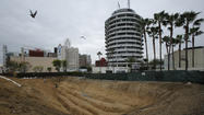 Trench dug at Hollywood site to look for possible earthquake fault