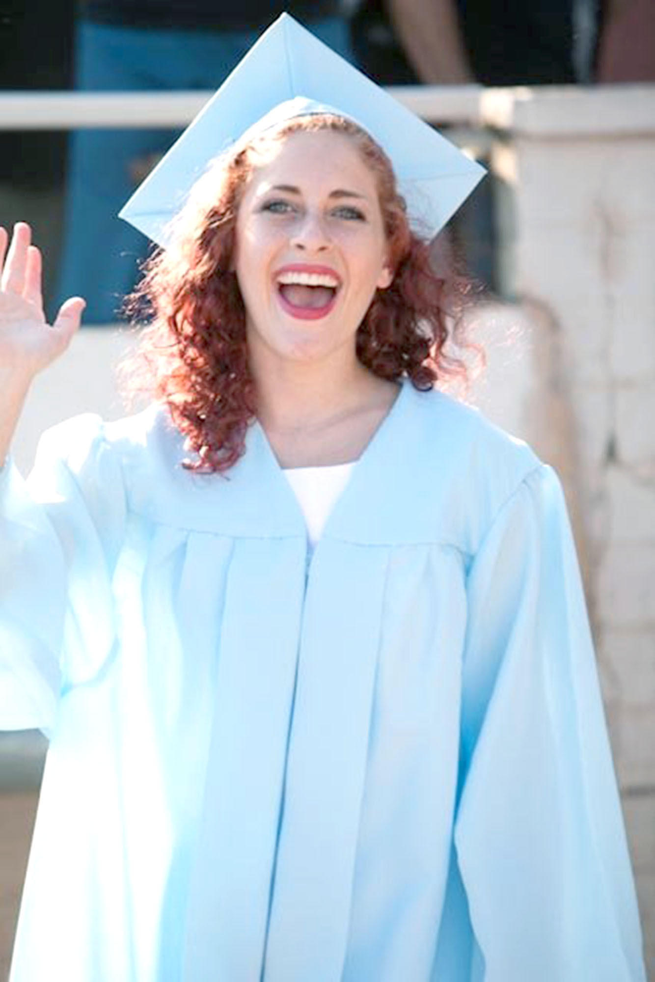 Elannah Rose Sheklow smiles at her high school graduation. Sheklow died of a heroine overdose, and her mother recently shared her daughter's story at the La Crescenta Library to try to convince local youth to stay away from drugs.