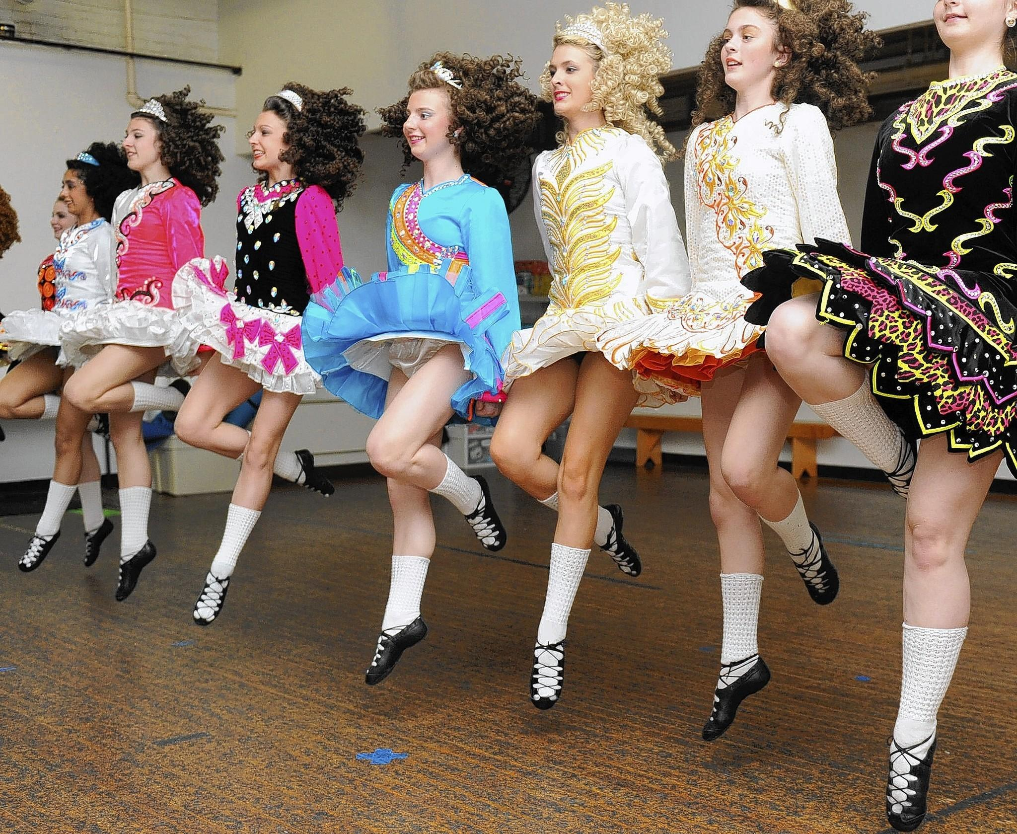 See the energy of Irish step dancing Saturday at the Cops 'n' Kids' Reading Room in Bethlehem.