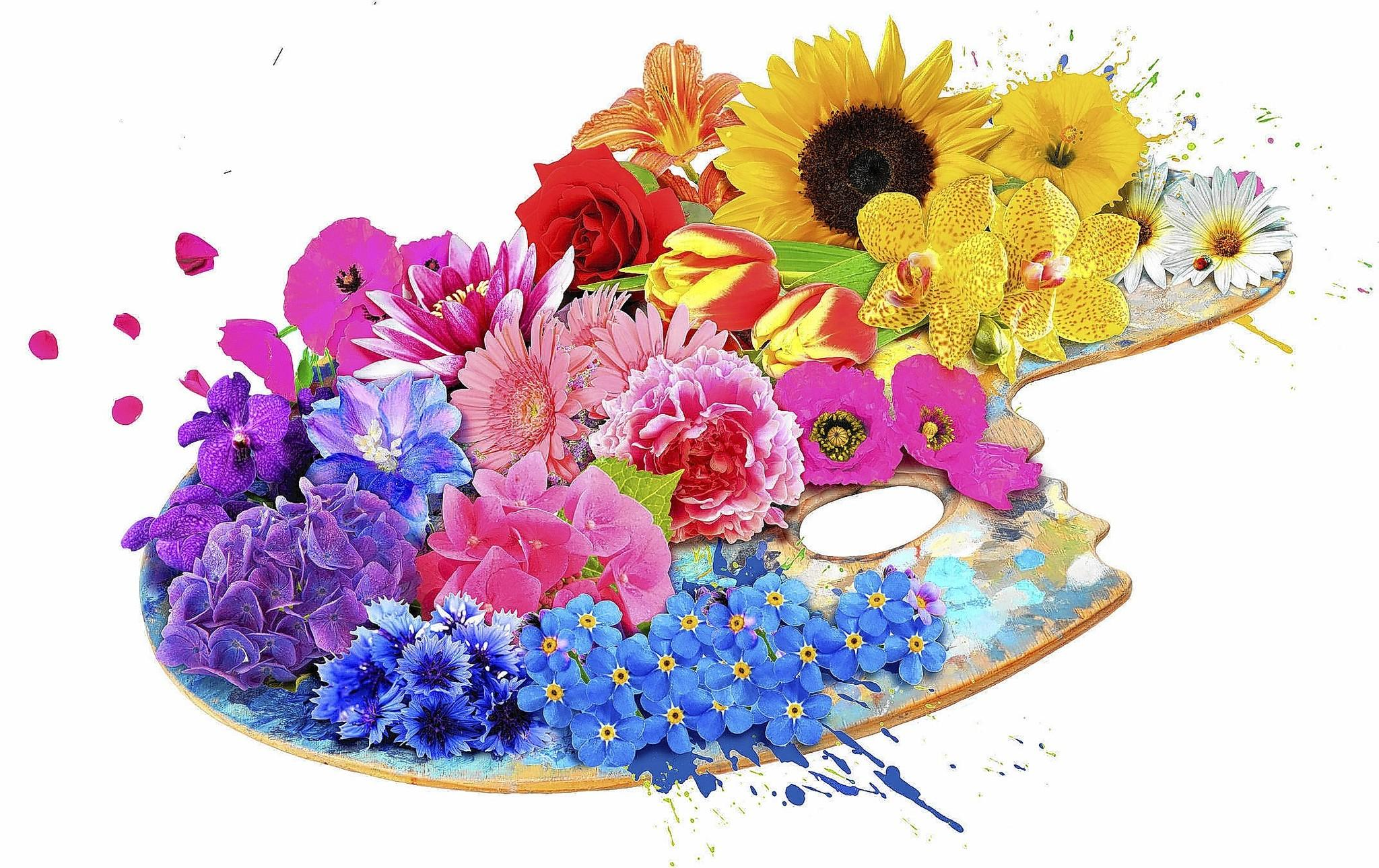 Logo for 2014 Philadelphia Flower Show, with the theme 'Articulture'