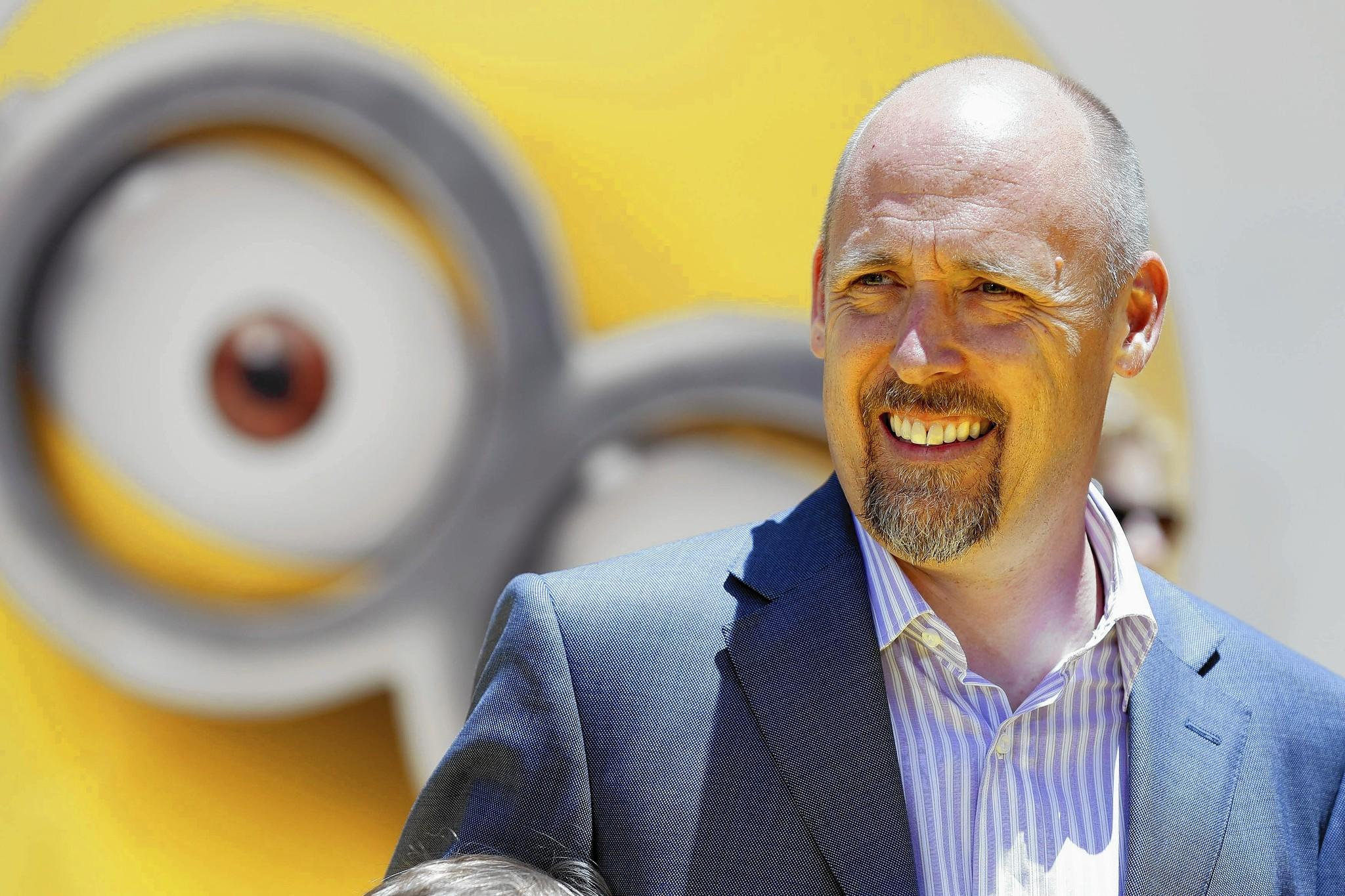 Former Parkland High School student Chris Renaud is up for an Oscar as director of the animated hit 'Despicable Me 2.'