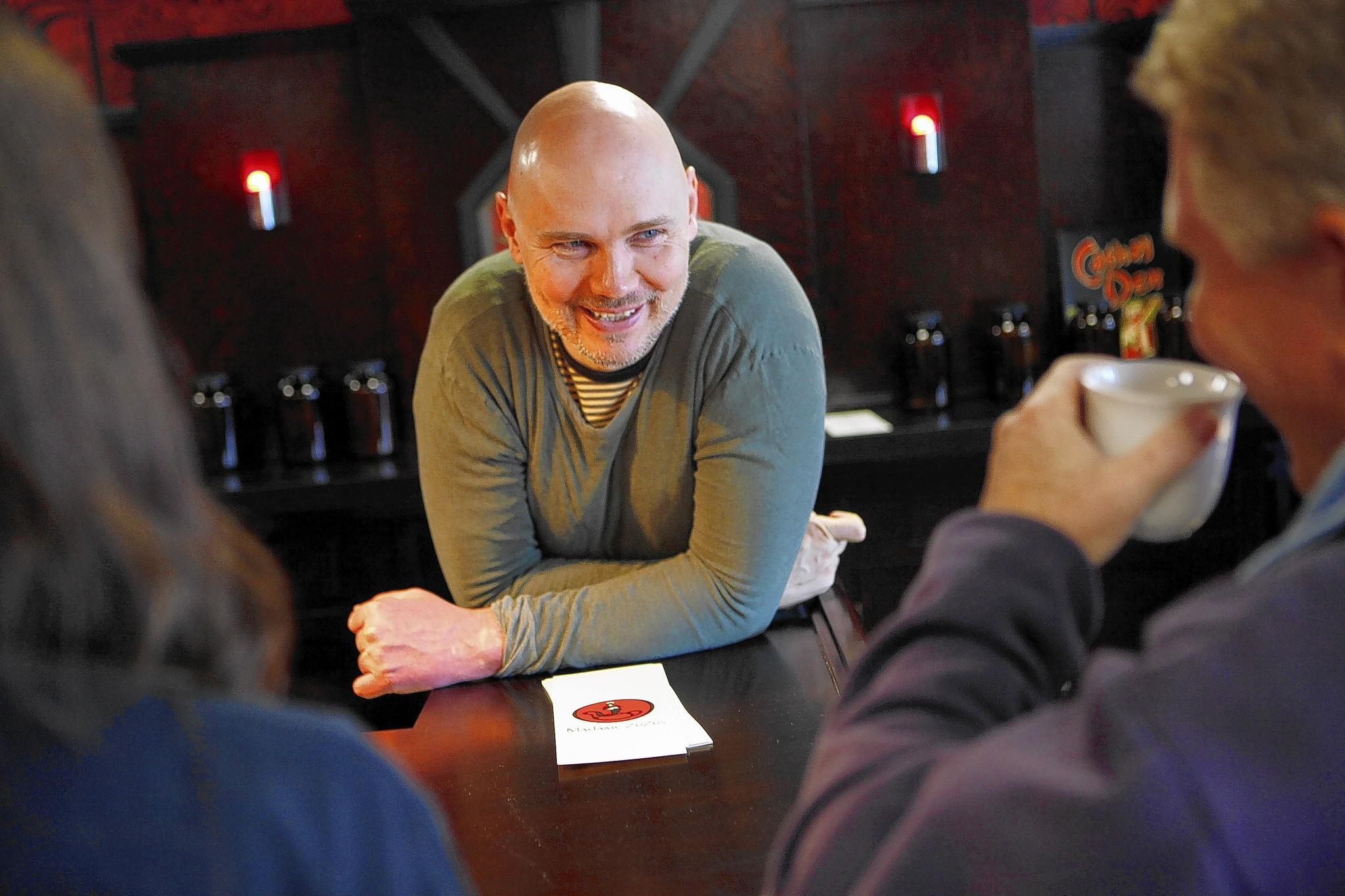 "Billy Corgan plans an eight- to nine-hour musical interpretation of ""Siddhartha"" on Friday at his teahouse in Highland Park."
