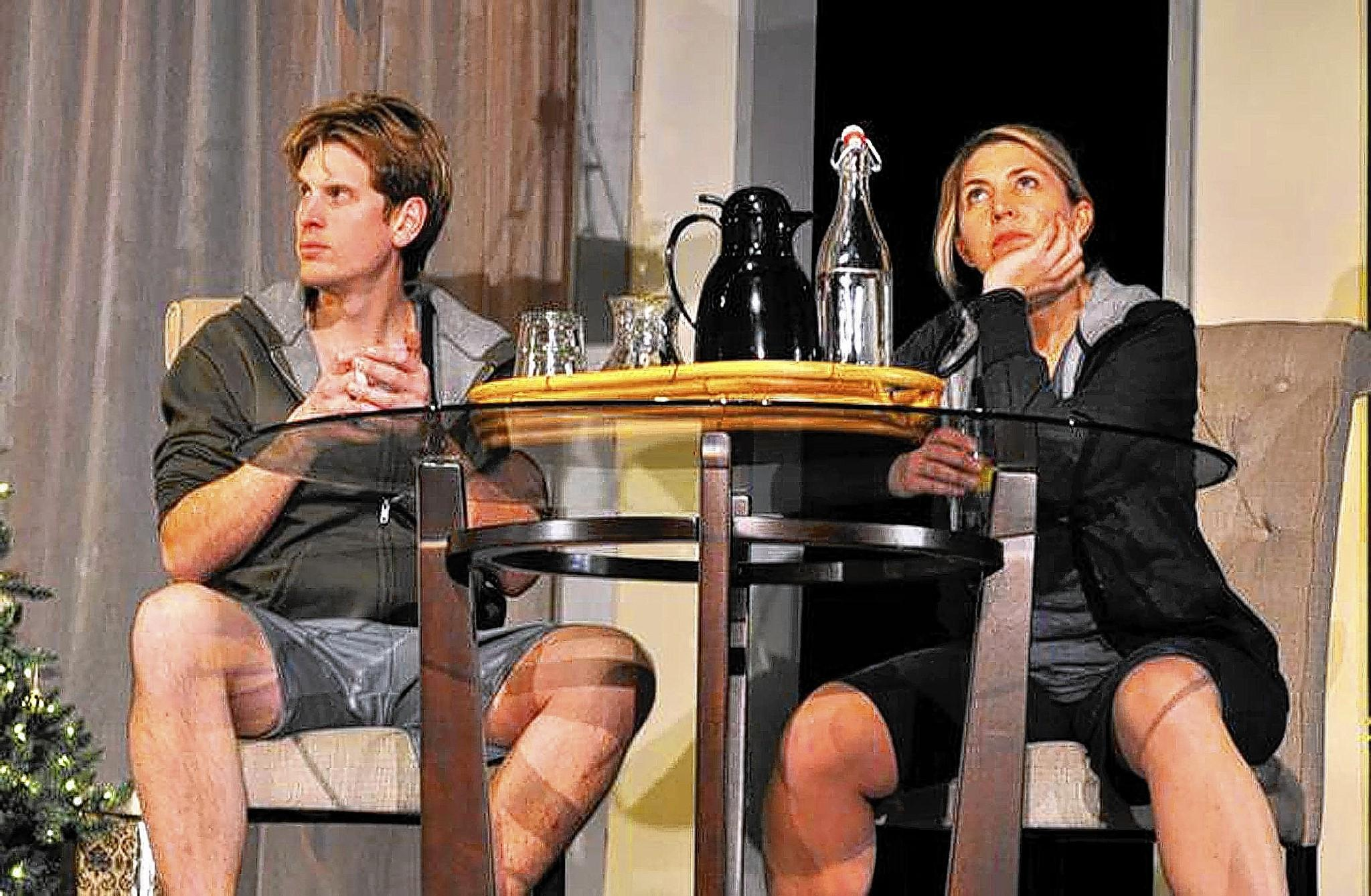 Will Morris and Gretchen Klinedinst Furst in Civic Theatre's 'Other Desert Cities.'