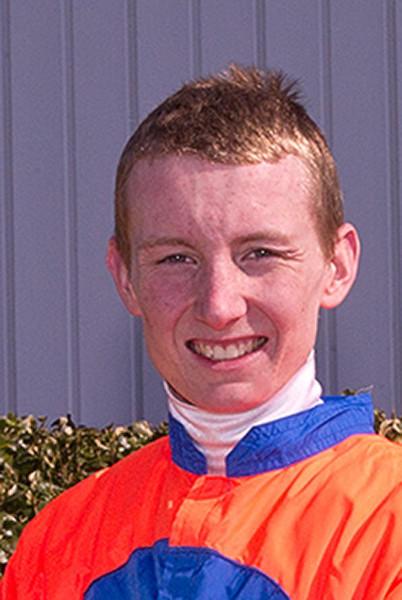 Apprentice jockey Trevor McCarthy