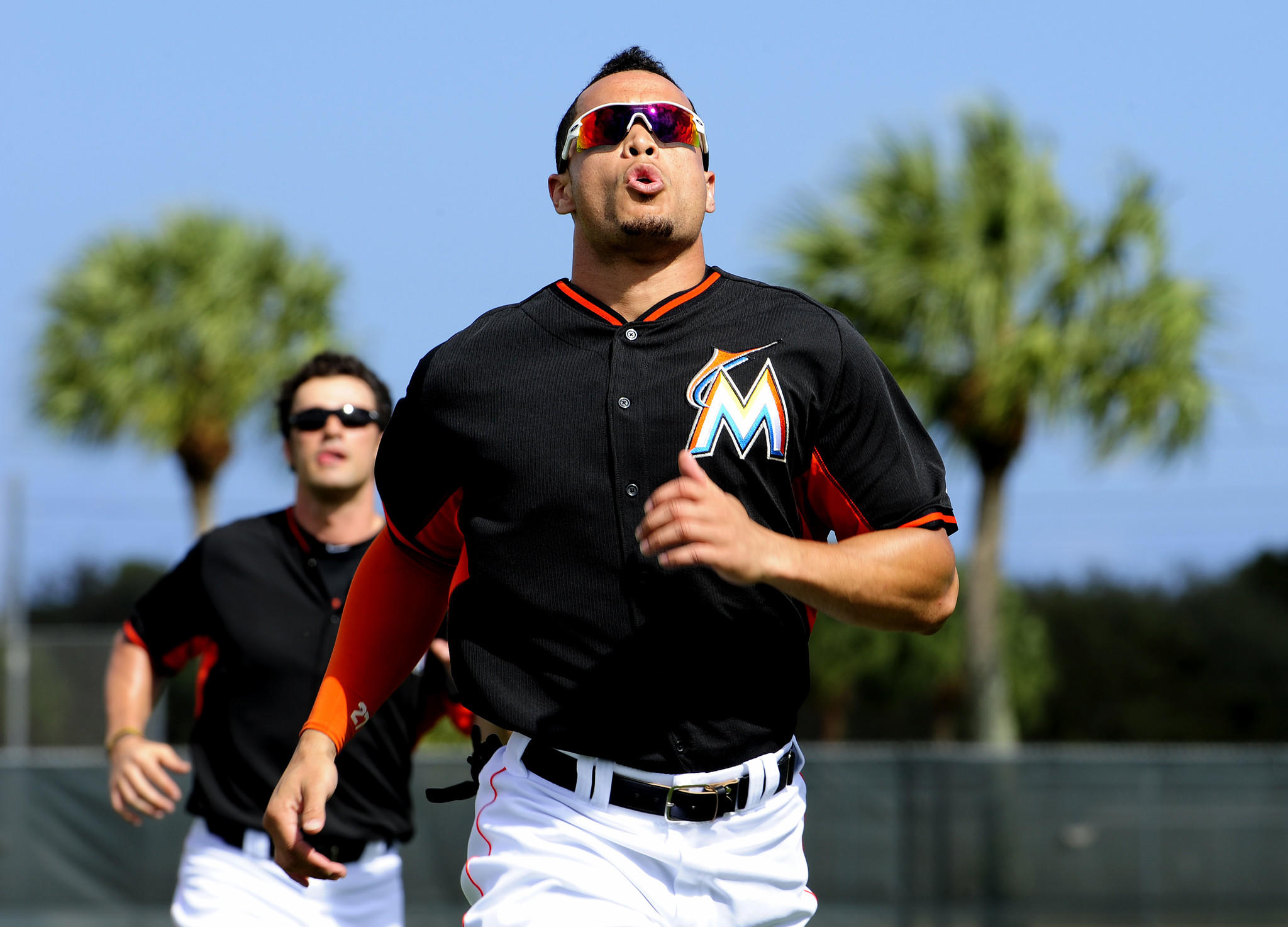 Giancarlo Stanton has a more than adequate baseball facility for offseason workouts now that his alma mater, Notre Dame High School in Sherman Oaks, Calif., has built a state-of-the-art facility.