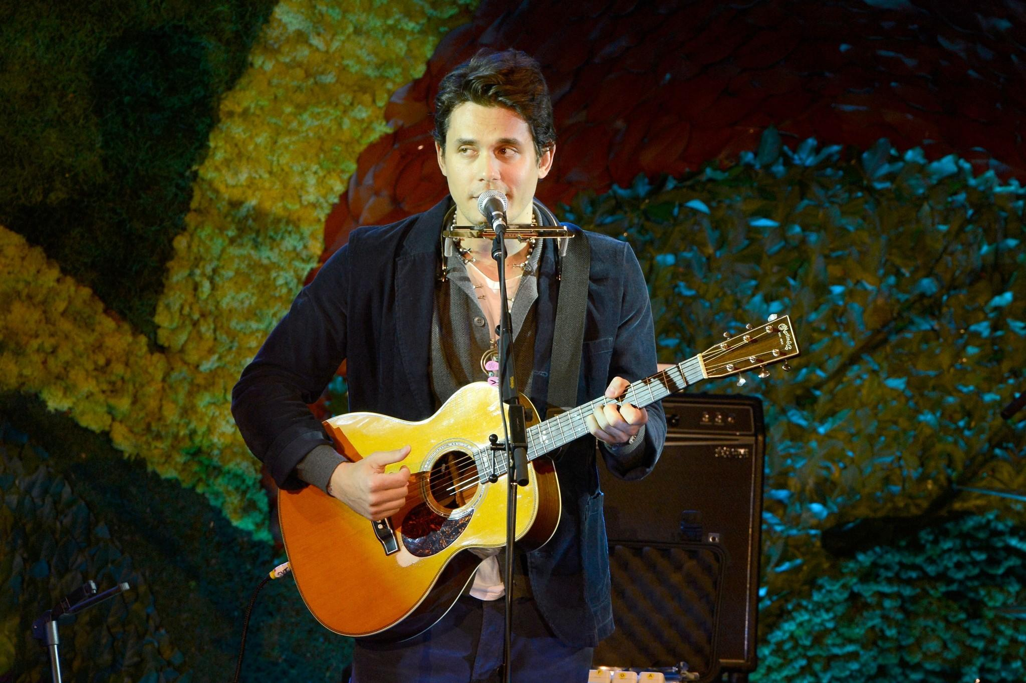 ohn Mayer performs onstage during Hollywood Stands Up To Cancer Event.