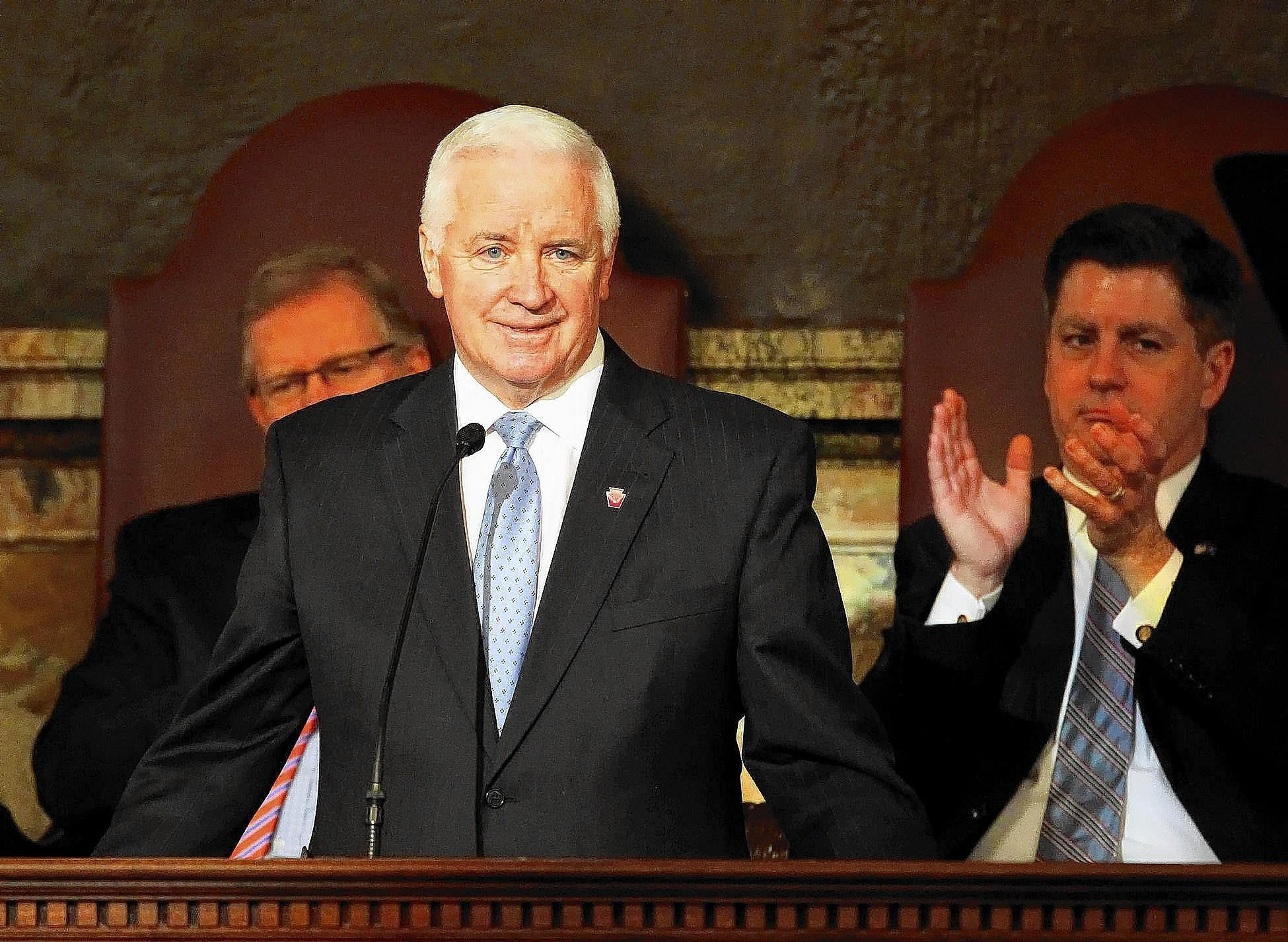 Governor Tom Corbett will undergo hernia surgery on Thursday.