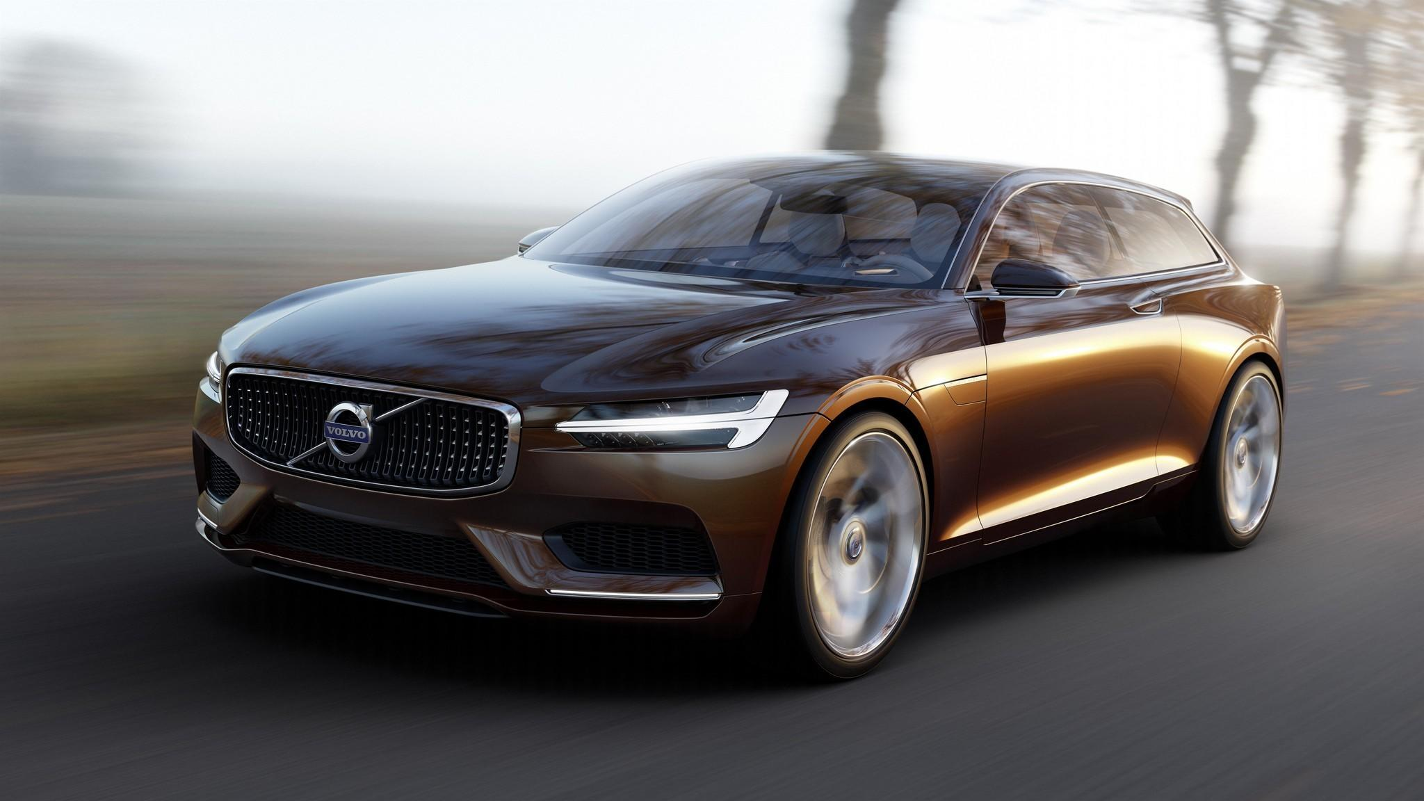 Geneva Motor Show: Volvo teases future with stunning Concept Estate ...
