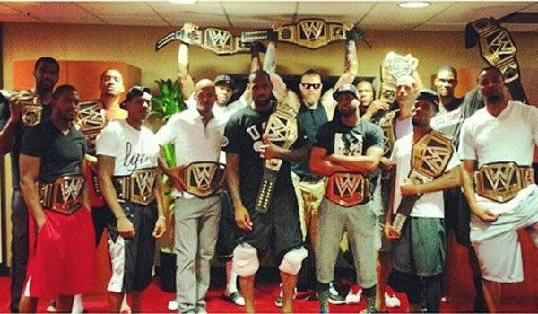 la-sp-sn-wwe-championship-belts-lebron-james-20140227