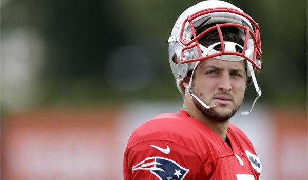 Former NFL quarterback Tim Tebow really is a bad boy at heart ... well, maybe not.