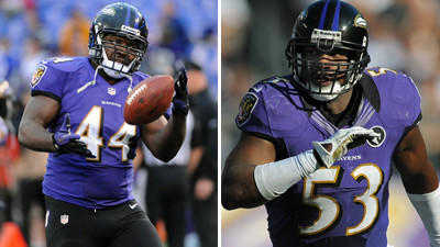 Ravens release Vonta Leach and Jameel McClain