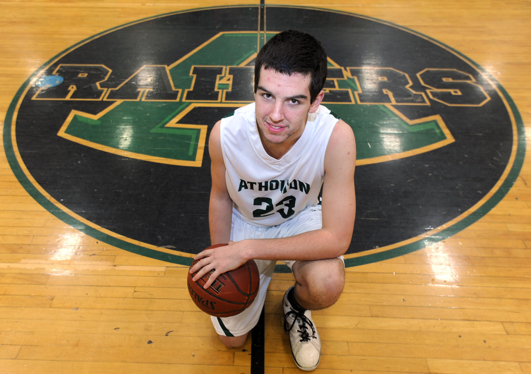 Michael Bernetti, basketball player for Atholton.