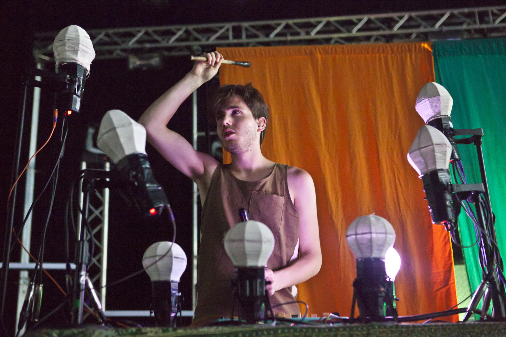 Corin Roddick, one half of Purity Ring, performs at DJ set at The Mid this weekend.