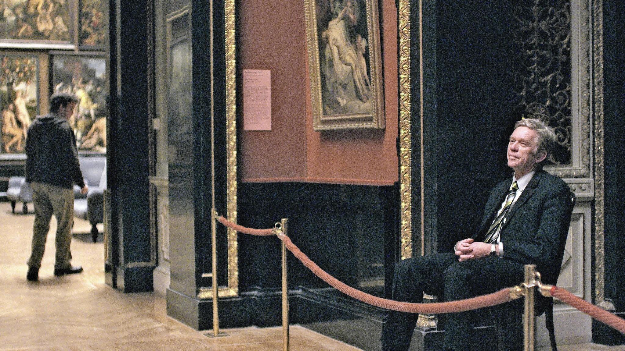 """Robert Sommer in """"Museum Hours."""""""