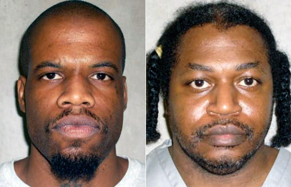 Clayton Lockett, left, and Charles Warner are scheduled to be executed in Oklahoma next month. The two have sued to obtain details about the drugs that will be used to kill them.