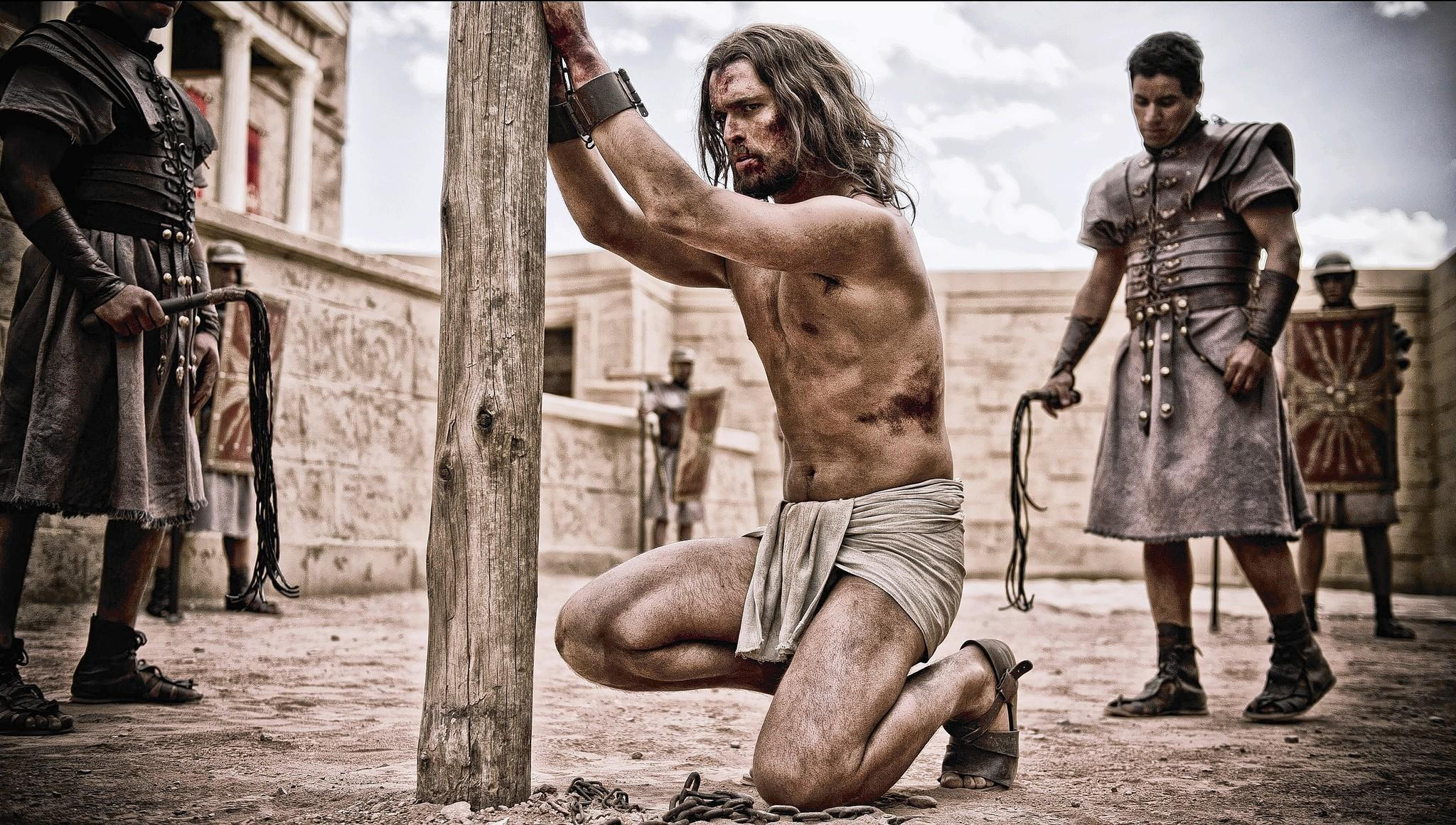 "Diogo Morgado portrays Jesus in a scene from ""Son of God,"" which opens Friday."