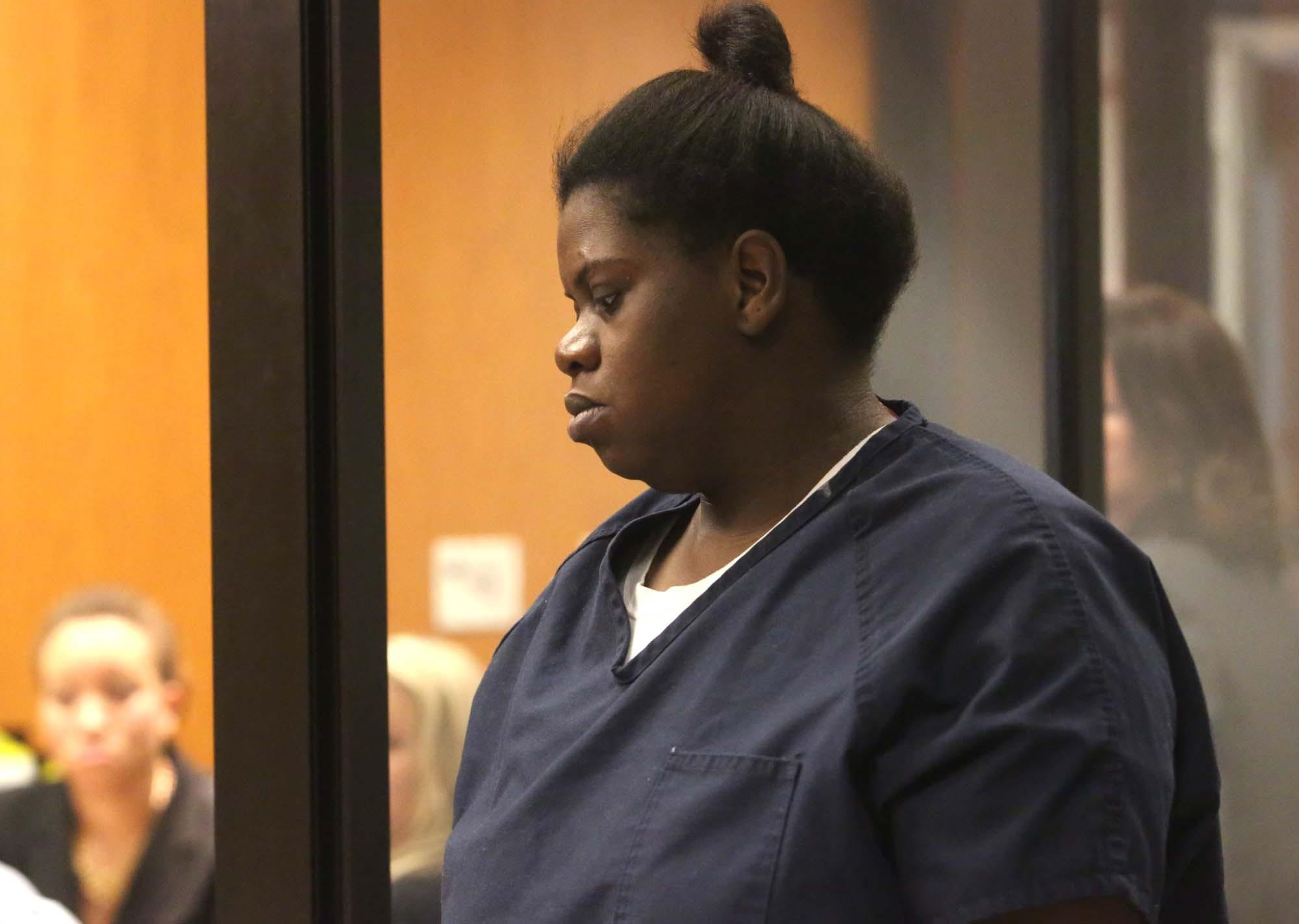 Rachel Fryer, 32, made a court appearance from the jail Thursday to face the new charges: felony murder, aggravated child abuse, evidence tampering and mishandling human remains.