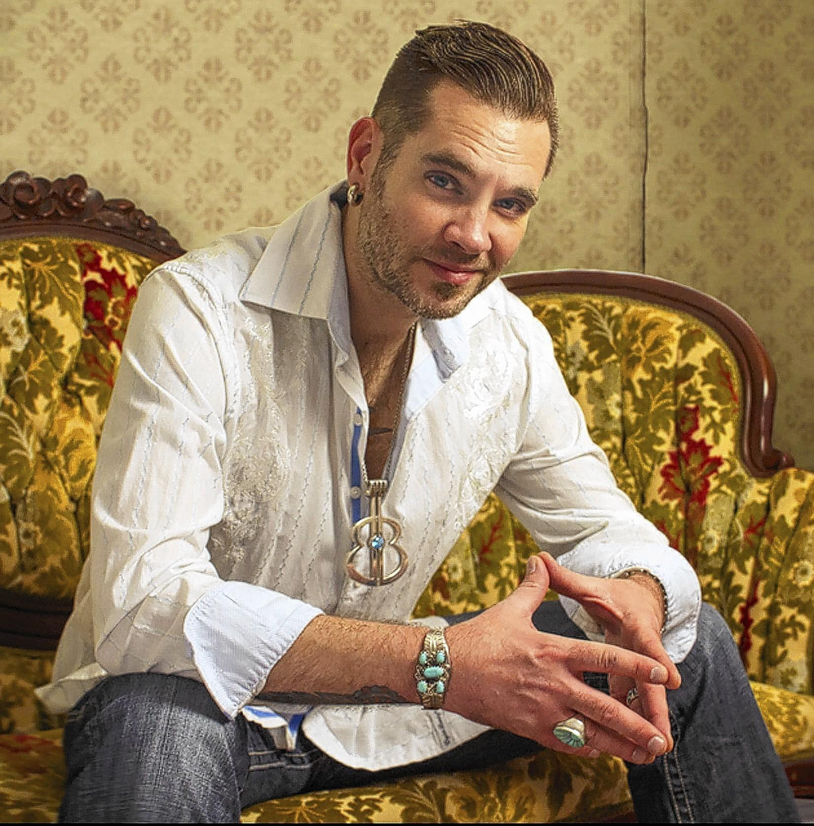 Bo Bice is the lead singer of Blood Sweat & Tears, performing March 5 at Musikfest Cafe in Bethlehem.