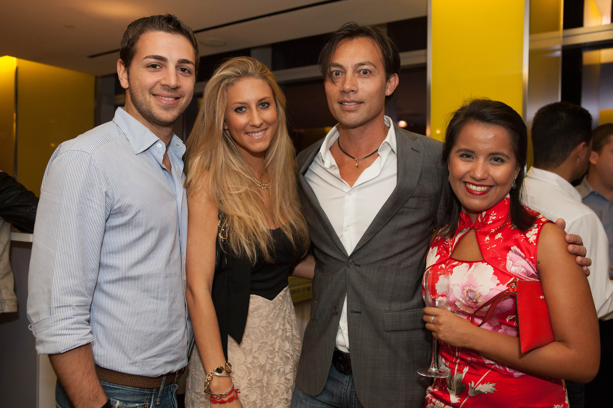 Society Scene photos - A celebration of the opening of BrickellHouse, an ultra-luxury condo tower in Miami
