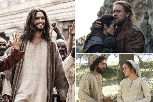 Click through to see a sampling of significant religious movies and their box office numbers of the past.
