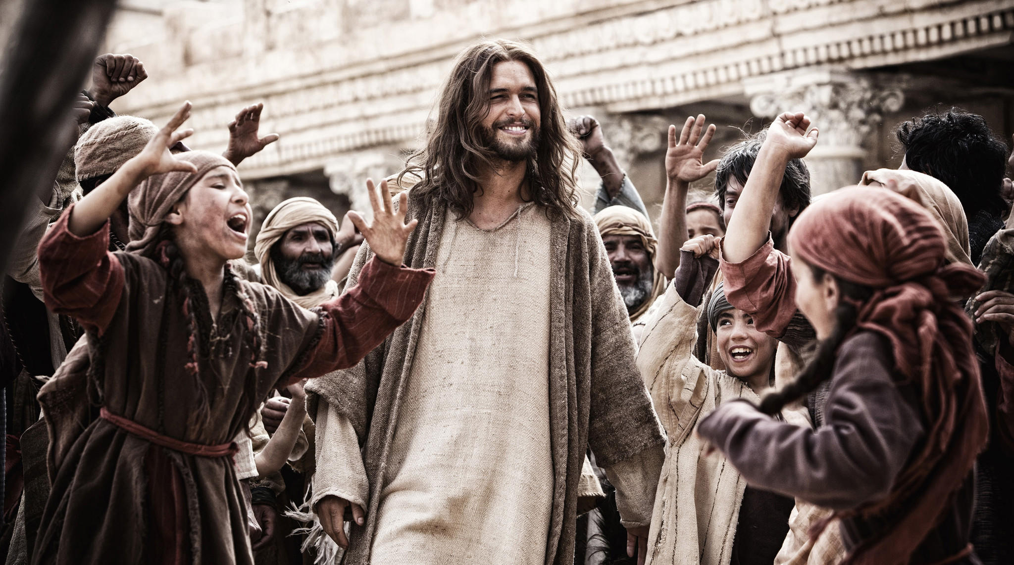 "Diogo Morgado in a scene from ""Son of God."""