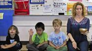 Mindful meditation at school gives kids tools for emotional expression