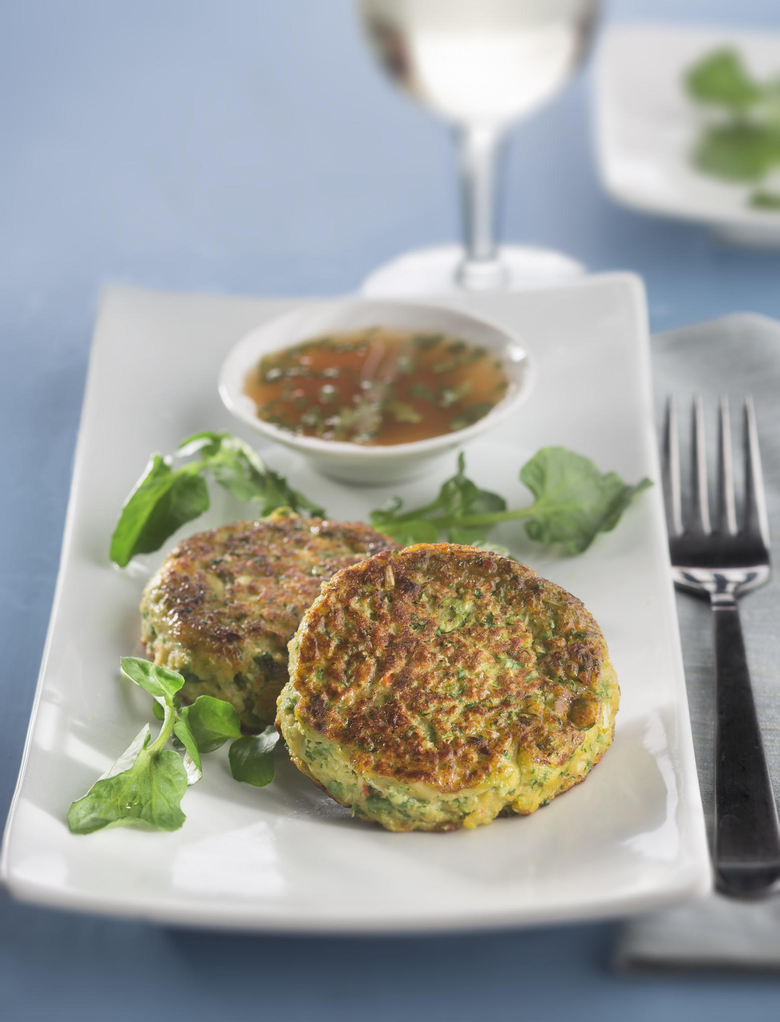 Fish cakes for Lent.