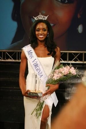 Newport News native and Hampton University graduate Desiree Williams was named Miss Virginia 2013, Saturday night. Courtesy of Miss Virginia website