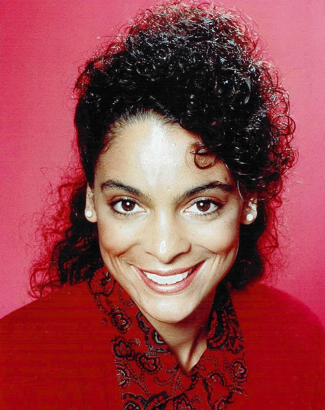 "Actress Jasmine Guy, shown in her role as Whitley Gilbert on ""A Different World,"" speaks at 7 p.m. Friday in a free appearance at Thomas Nelson Community College in Hampton."