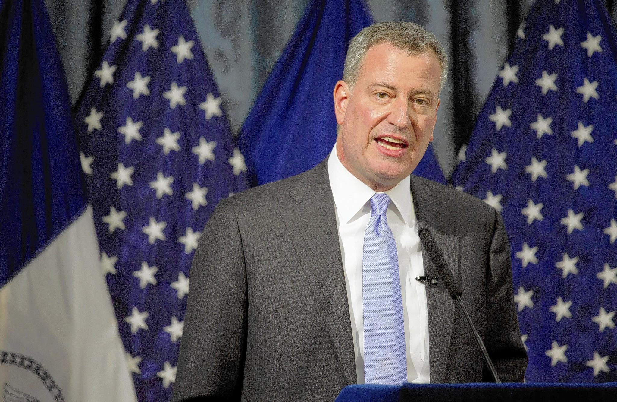 New York Mayor Bill de Blasio is one of several progressive Democrats who could steer the party further to the left.