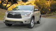 2014 Toyota Highlander: Bigger yet smaller, sadly