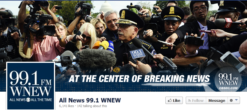 """Washington's WNEW-FM (99.1) """"repositions"""" itself starting Monday with a hard look south toward Annapolis and Baltimore in search of listeners."""