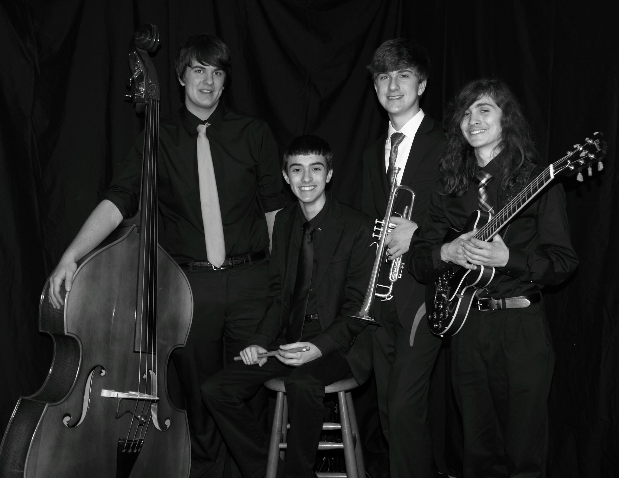 From left to right: Michael Louchen, Brandon Charron, Tom Killackey and Matt Stevens.
