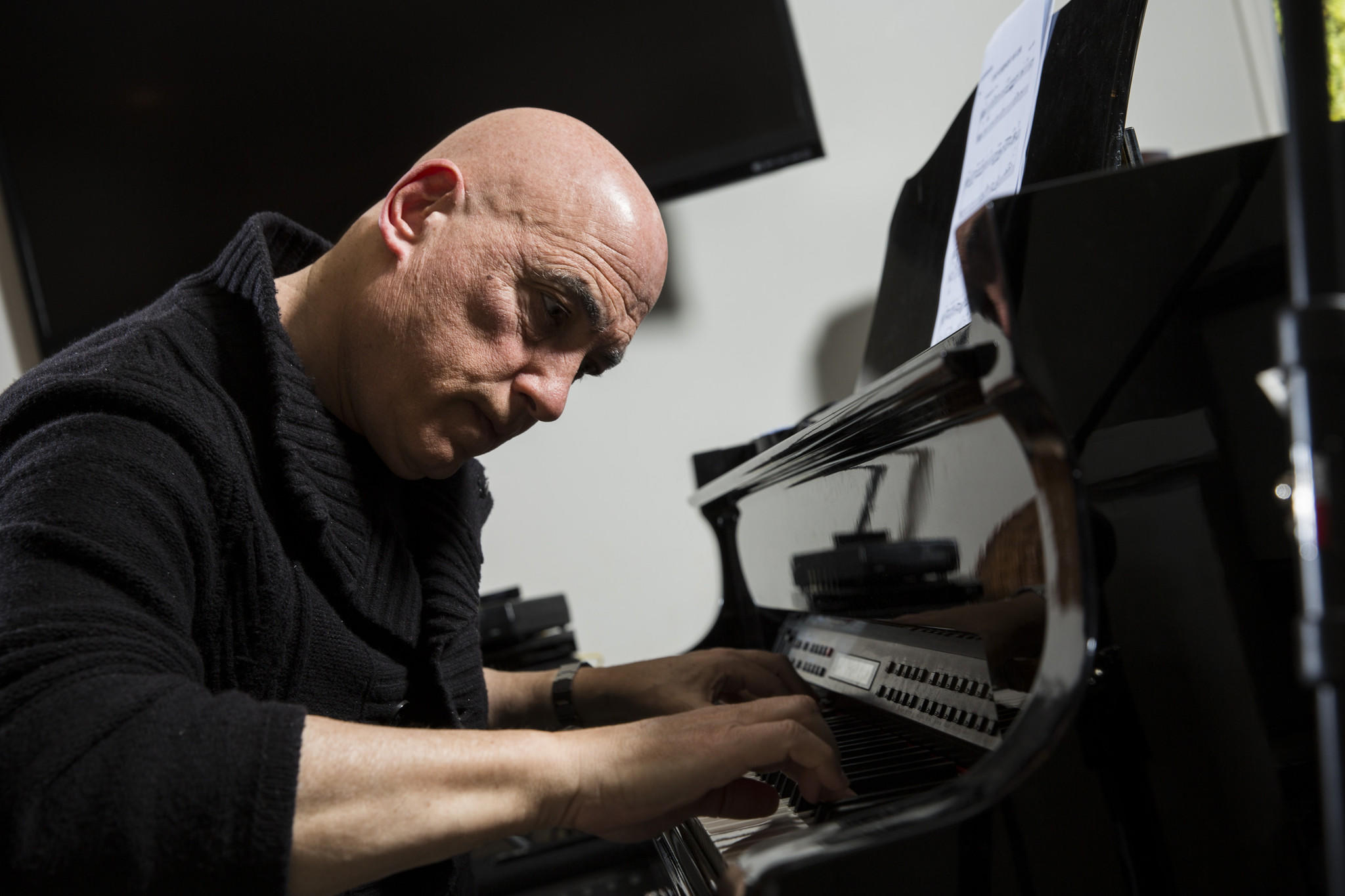 Musician Mike Garson is best known for his piano work with David Bowie.
