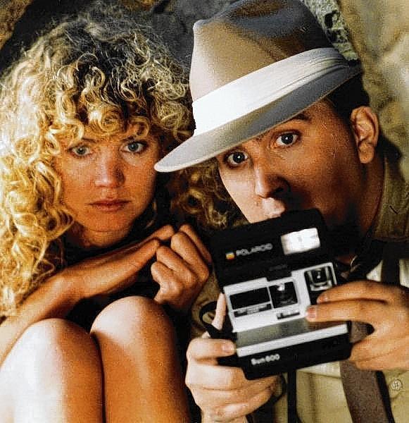 Cynthia Thompson and Bethlehem native Daniel Roebuck starred in the 1985 movie 'Cavegirl.'