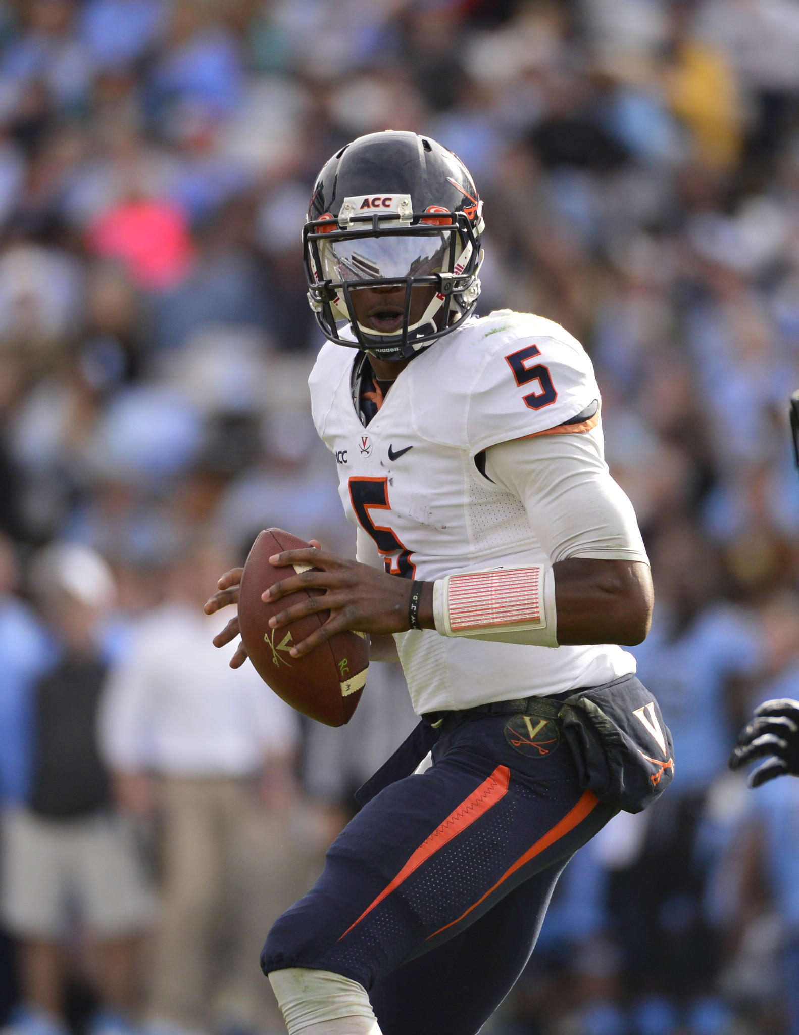 U.Va. quarterback David Watford, from Hampton, again will compete for the starting job this offseason.