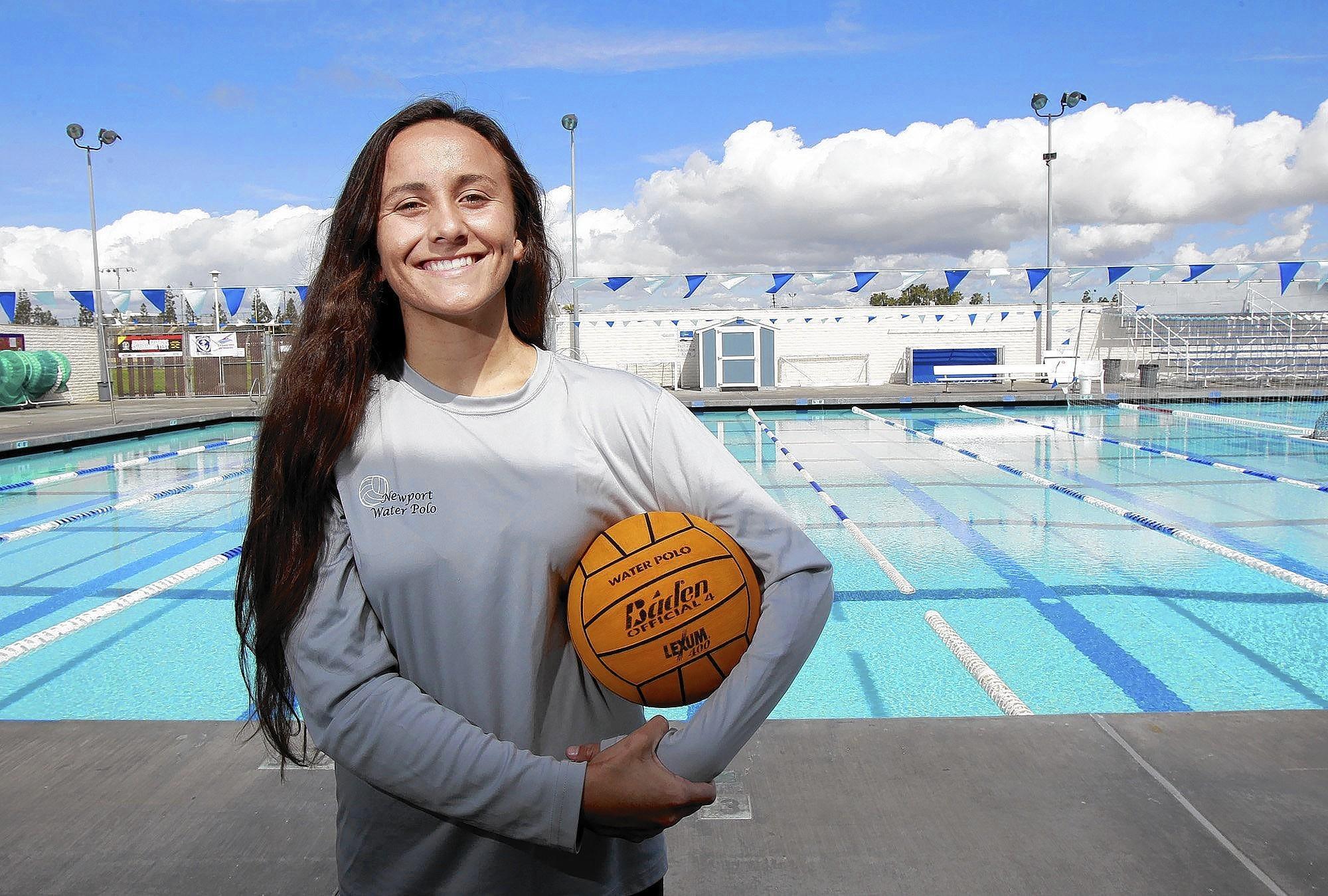 Newport Harbor High's Rachel Whitelegge is the Daily Pilot High School Athlete of the Week.