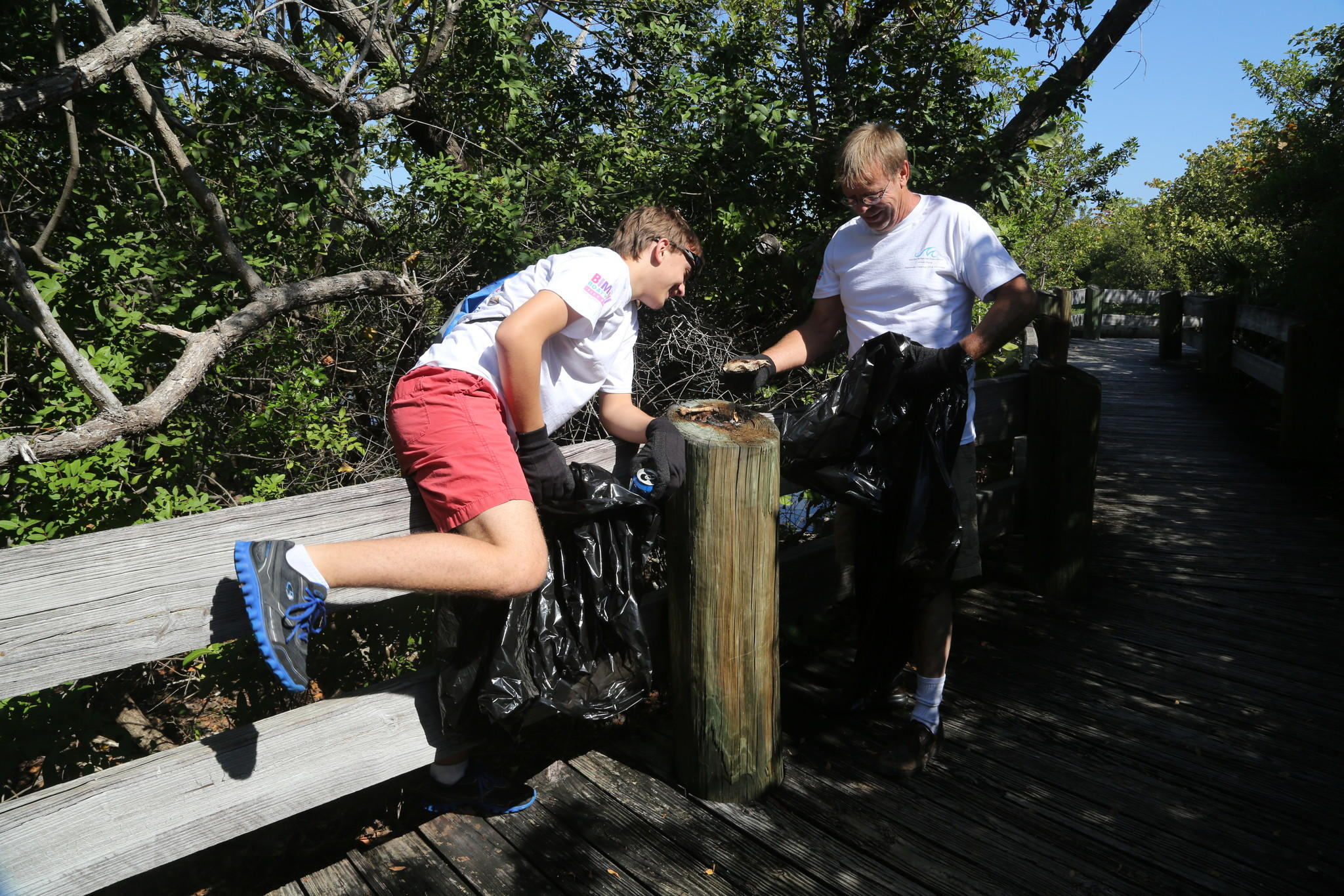 Volunteers helped out with the 37th annual Broward County Waterway Cleanup.