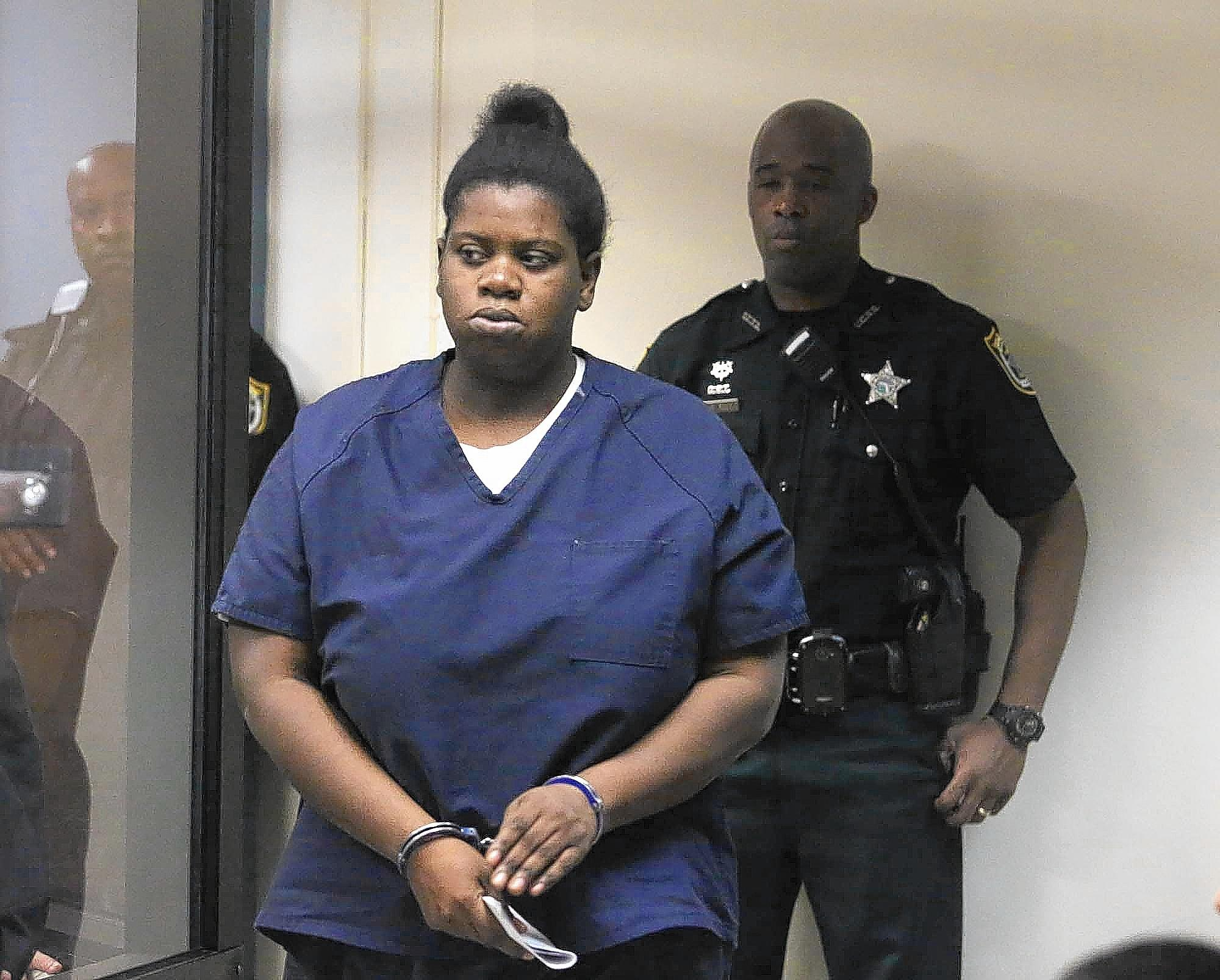 Rachel Fryer made her first appearance before a Seminole county judge from the Seminole County jail Thursday. She is charged in the murder of her child.