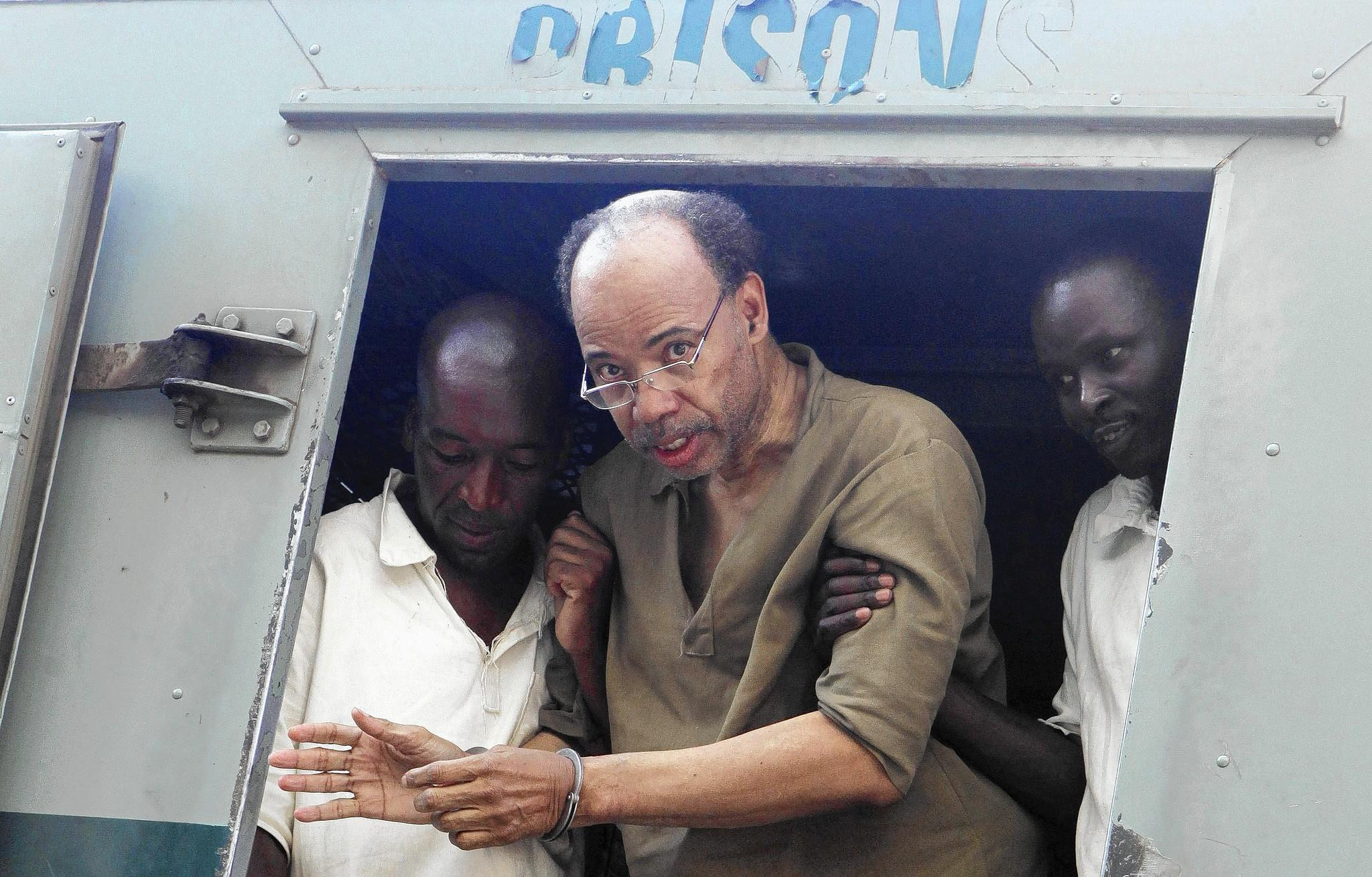 Former U.S. congressman Mel Reynolds pleaded not guilty in Zimbabwe to charges of possessing pornographic images. The charges were dropped.