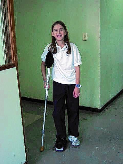 Catalina Pelaez of the Trinity women's squash team photographed in 2003 after the bombing.