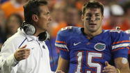 Gators not happy about Urban Meyer turning Tim Tebow into Ohio State recruiting tool