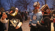 Photos: Hawks fans at Soldier Field