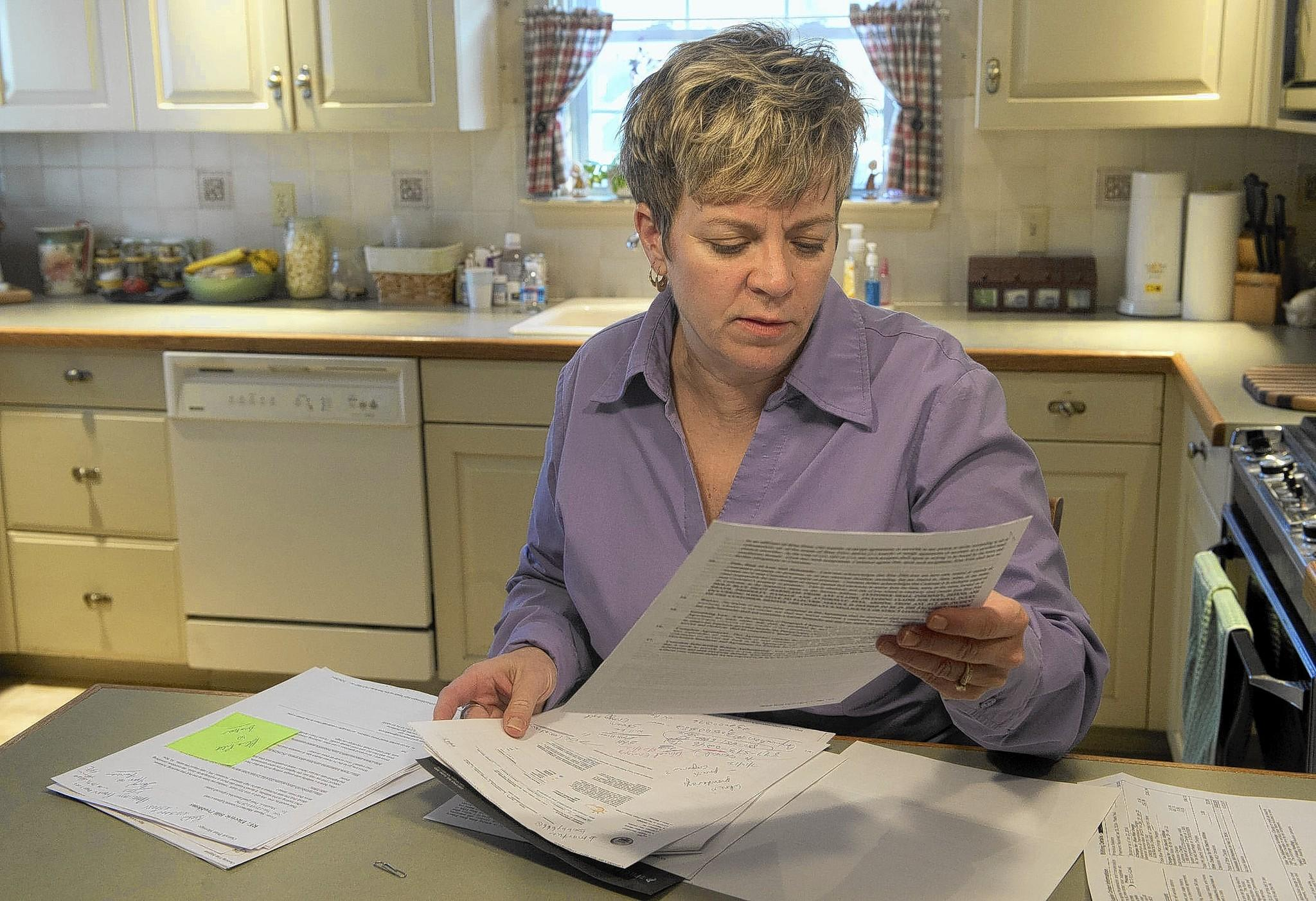 Susan Martucci of Salisbury Twp. was hit with a high electric bill after variable rates spiked. About 1400 people statewide are complaining about sharp increases in variable rate electric prices charged by alternate electric suppliers.