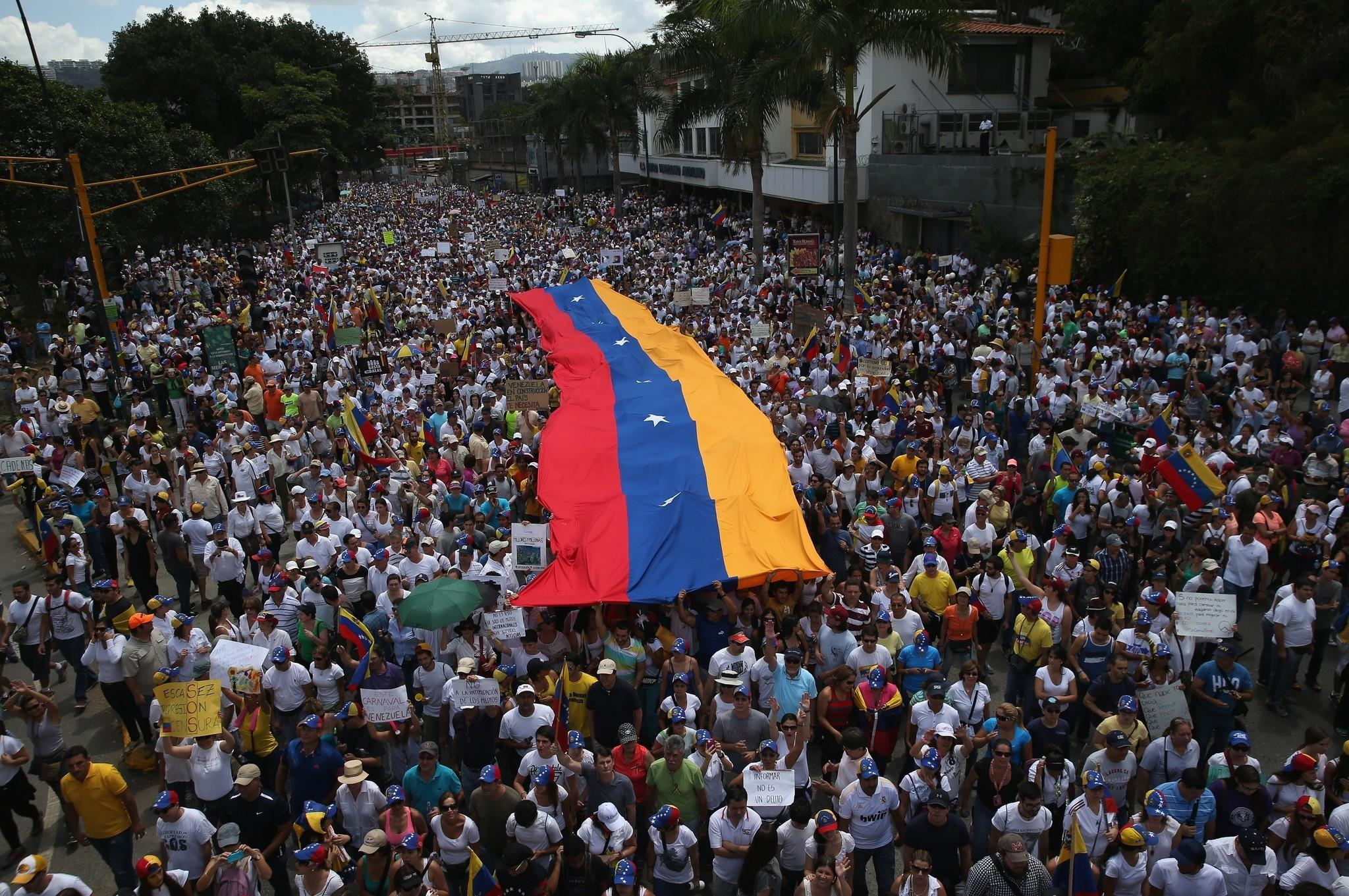 Image result for venezuela march