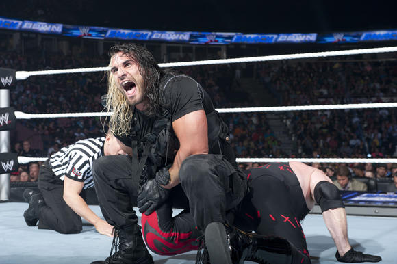 Seth Rollins of WWE's The Shield